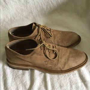 Officine Creative Brown suede dress shoes size 8US